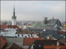 La ciudad de Olomouc fue reconstruida majestuosamente en el estilo barroco después de la Guerra de Treinta Años