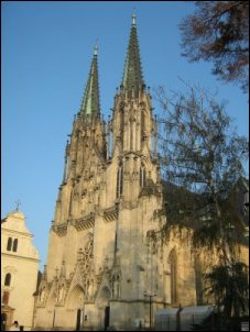 Catedral de San Wenceslao en Olomouc