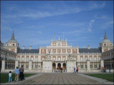 El Palacio Real de Aranjuez fue Mandado construir por Felipe II en 1561