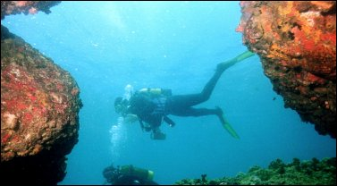 Buceando en Malta
