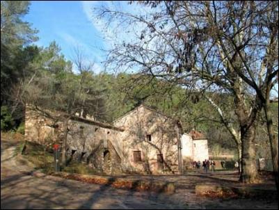 Cabanes: La ermita de Les Santes