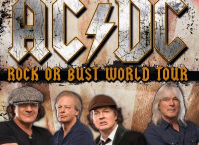 """AC/DC cuelgan el """"no hay billetes"""" para sus conciertos en España"""
