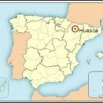 Mapa de situación de Huesca