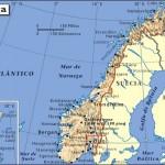 Mapa de situación de Oslo