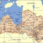 Mapa de situación de Riga