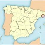Mapa de situación de Barcelona