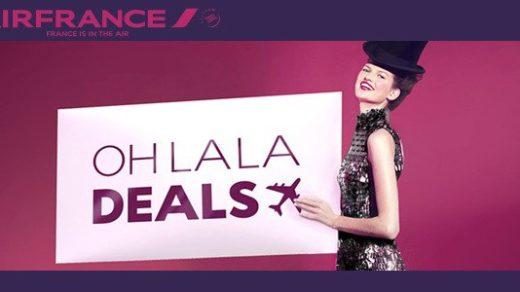 """Air France y KLM en España lanzan las nuevas promociones """"Oh La La Deals"""" y """"Dream Deals"""""""