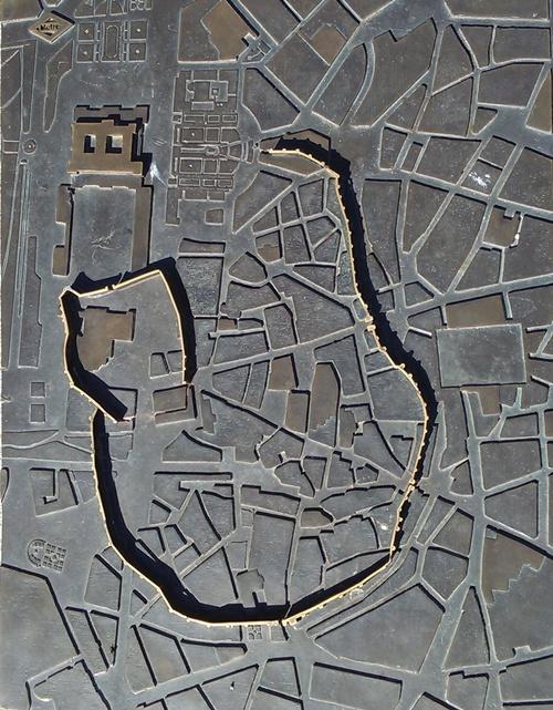 Imagen iconográfica de la Muralla de Madrid