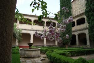 El Monasterio de Yuste, vista interior