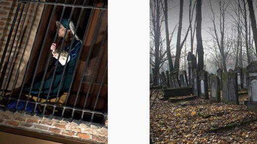 Cada primero de noviembre se representa este drama romántico que se desarrolla en un cementerio