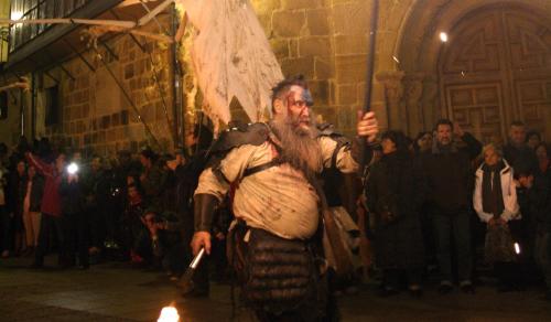 """Soria propone celebrar la Noche de Difuntos con un espectáculo de luz, fuego y con una lectura teatralizada de la leyenda de """"El Monte de las Ánimas"""""""