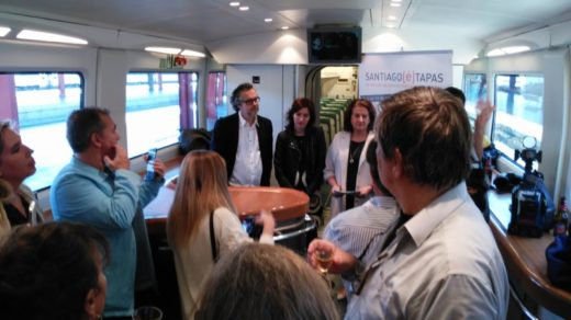 Santiago(é)Tapas muestra la calidad de la gastronomía compostelana en Madrid