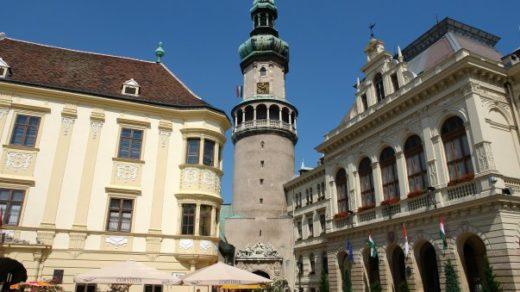 Sopron, en el Transdanubio húngaro