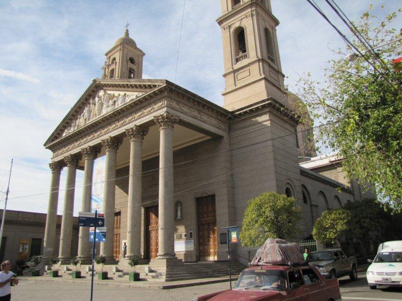 La catedral, fue declarada Lugar Histórico Nacional en 1975 y la cripta del Coronel Pringles, Sepulcro Histórico Nacional