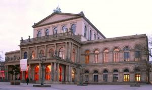 La Ópera de Hannover, una de las mejores del mundo.