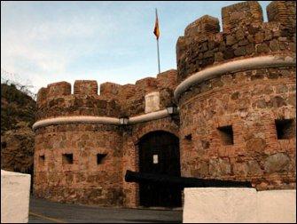 El Castillo del Desnarigado de Ceuta