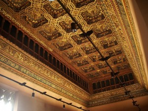 Salón del Trono de La Aljafería de Zaragoza
