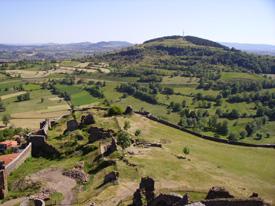 Auvernia es una región volcánica.