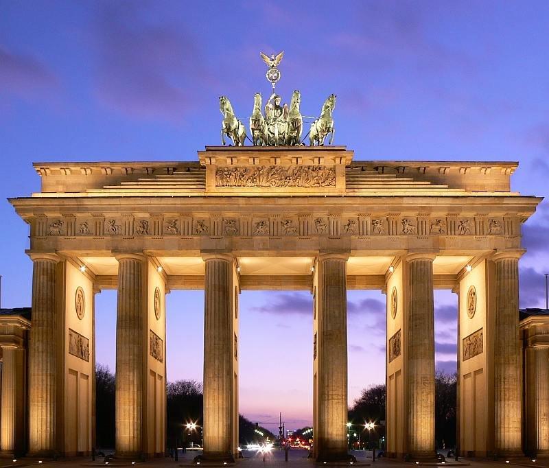 La Puerta de Brandenburgo, símbolo de la ciudad