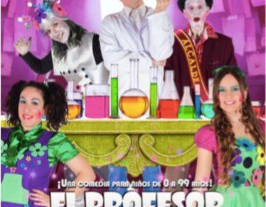 El Profesor desinflado, estreno en el Teatro Arlequín Gran Vía