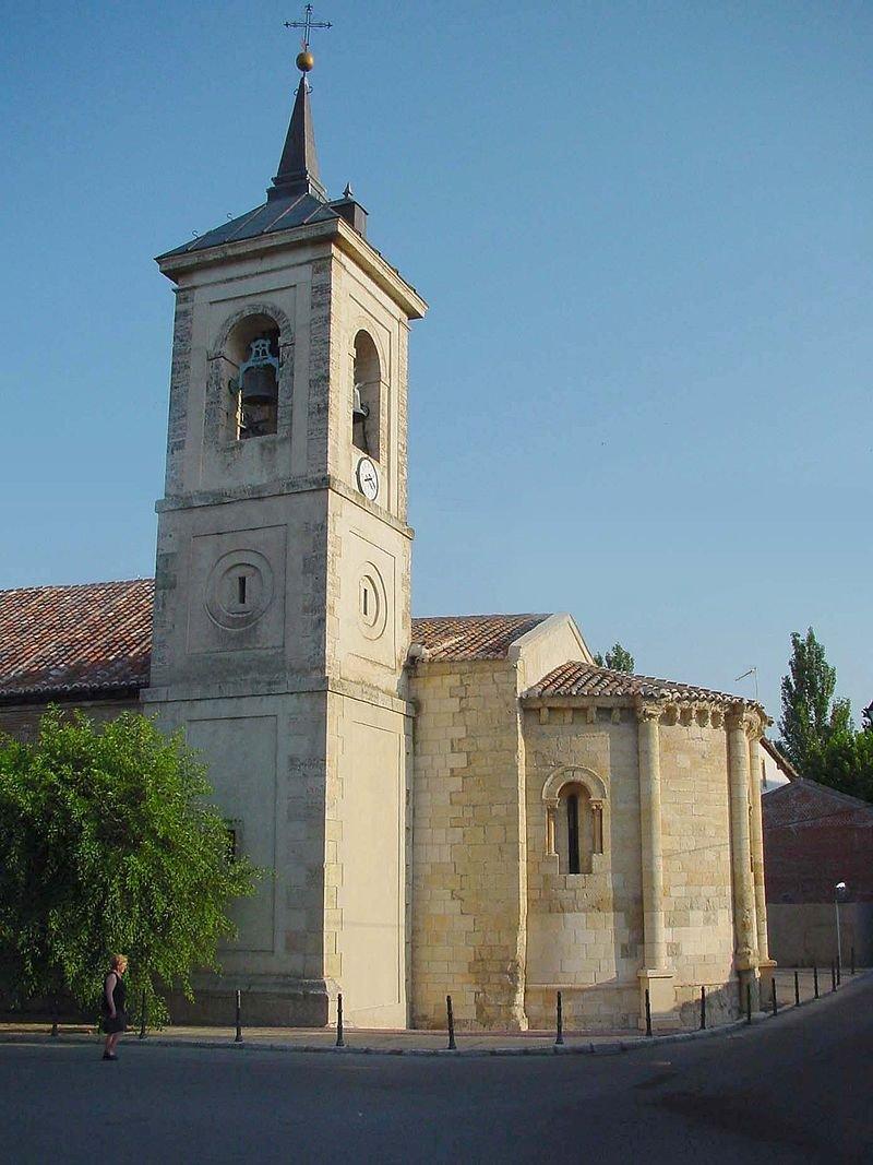 Iglesia de San Juan Bautista en Talamanca
