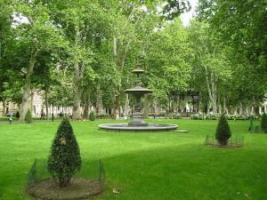 Parque Zrinjevac de Zagreb
