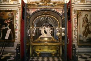 Sepulcro de Santa Teresa