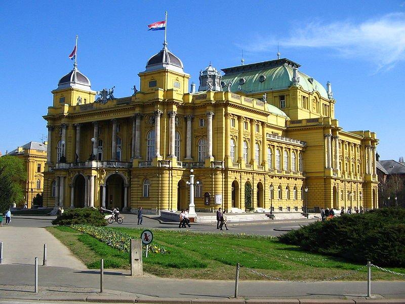Teatro Nacional en Zagreb