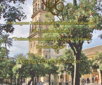 Córdoba acogerá el III Congreso Internacional Científico-Profesional de Turismo Cultural