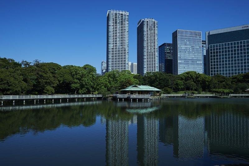 Jardines Hamarikyu en Tokio