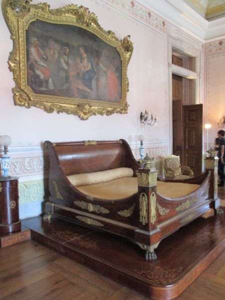Dormitorio real del Palacio Nacional de Mafra