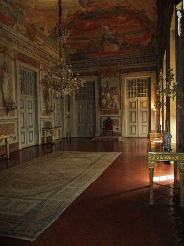 Salón del Palacio Nacional de Mafra