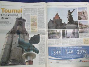 """Tournai, una ciudad de arte"""