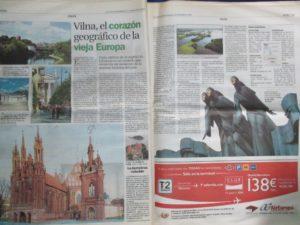 """""""Vilna, el corazón geográfico de la vieja Europa"""""""