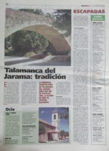 """""""Talamanca del Jarama: tradición"""""""