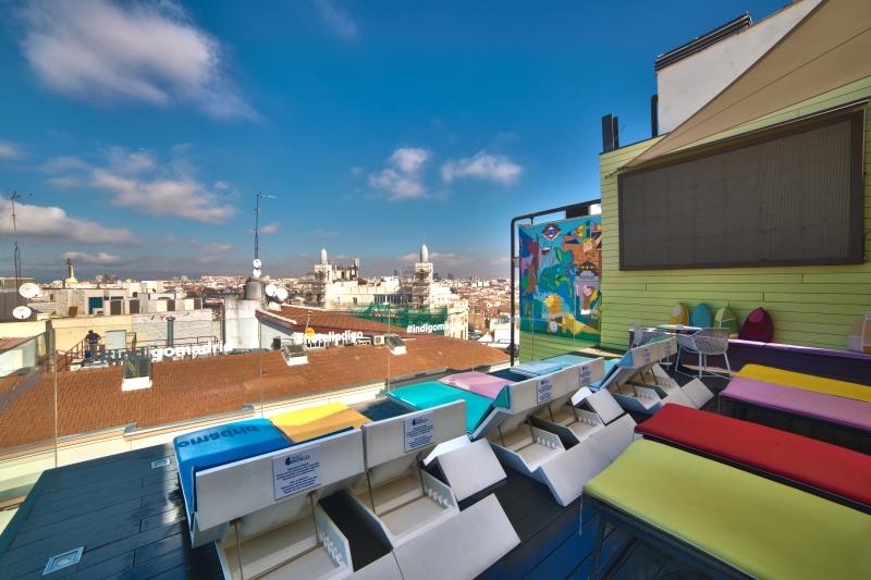 El Mejor Ocio De Madrid En La Terraza Del Hotel Indigo