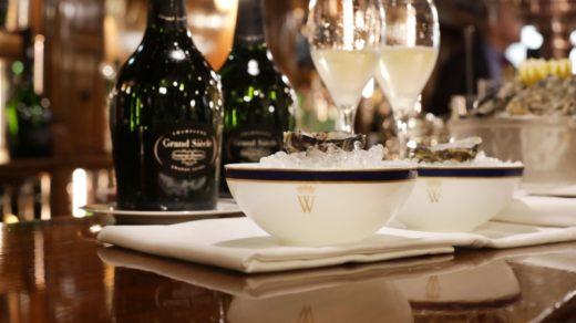 Bar Grand Siècle, la propuesta navideña de Champagne Laurent-Perrier y el Hotel Wellington