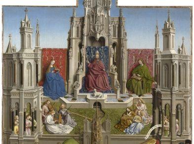La Fuente de la Gracia (tras la restauración) Taller de Jan van Eyck Óleo sobre tabla, 181 x 119 cm 1440- 1445 Madrid, Museo Nacional del Prado