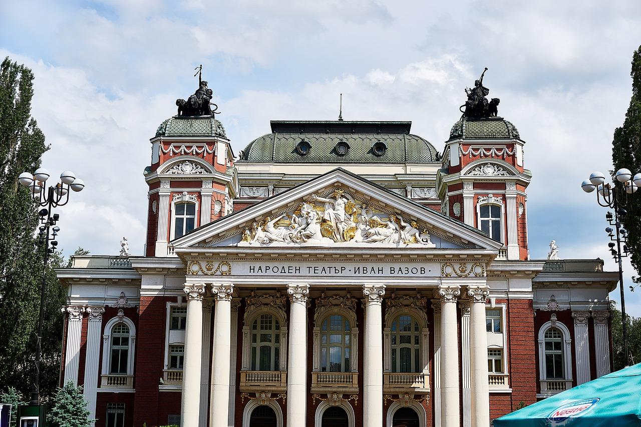 El Teatro nacional de Sofía
