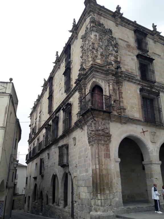 Detalle Palacio de la Conquista