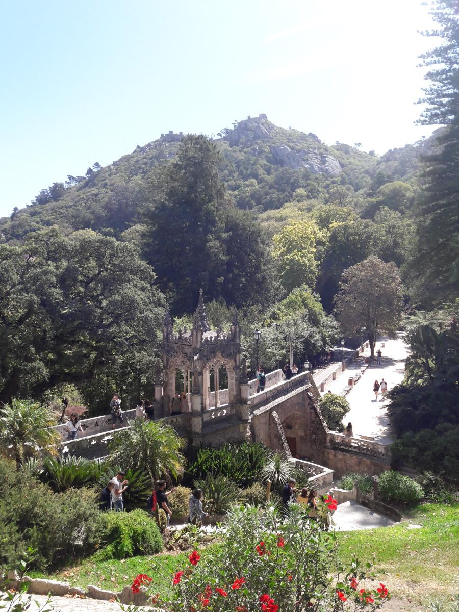 Jardines en la Quinta da Regaleira
