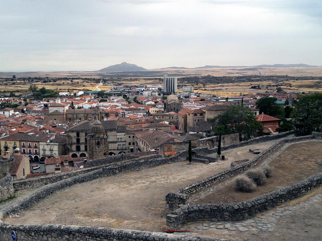 Panorámica de Trujillo desde el Castillo - Trujillo