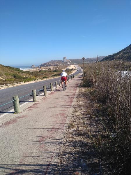 El recorrido del Eco Caminho do Sizandro se puede hacer a pie o en bicicleta de montaña