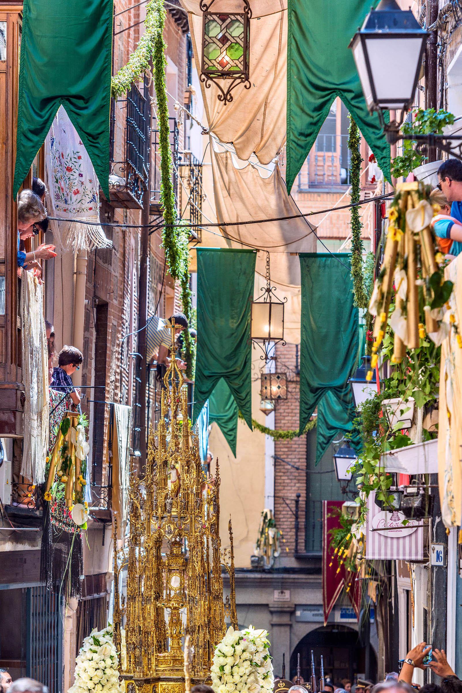 La procesión del Corpus Cristi de Toledo es la más célebre