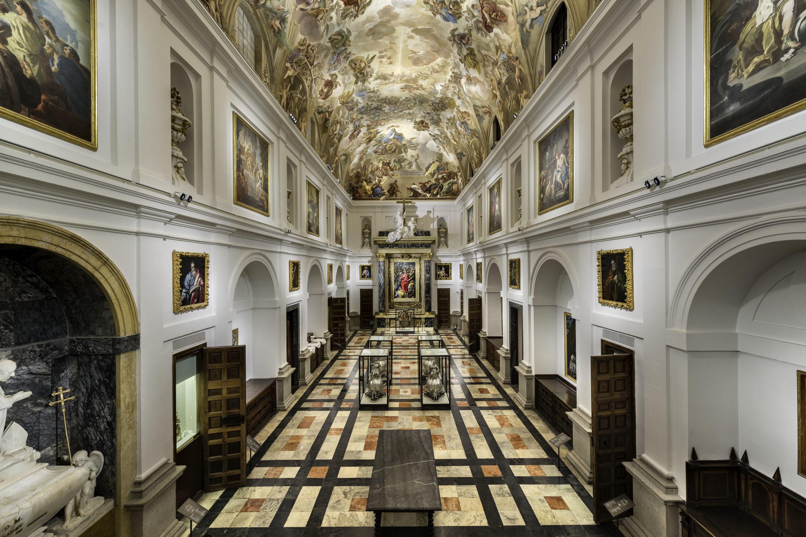 Situado en la sacristía y reformado de manera acertada, el museo cuenta actualmente con las condiciones de iluminación