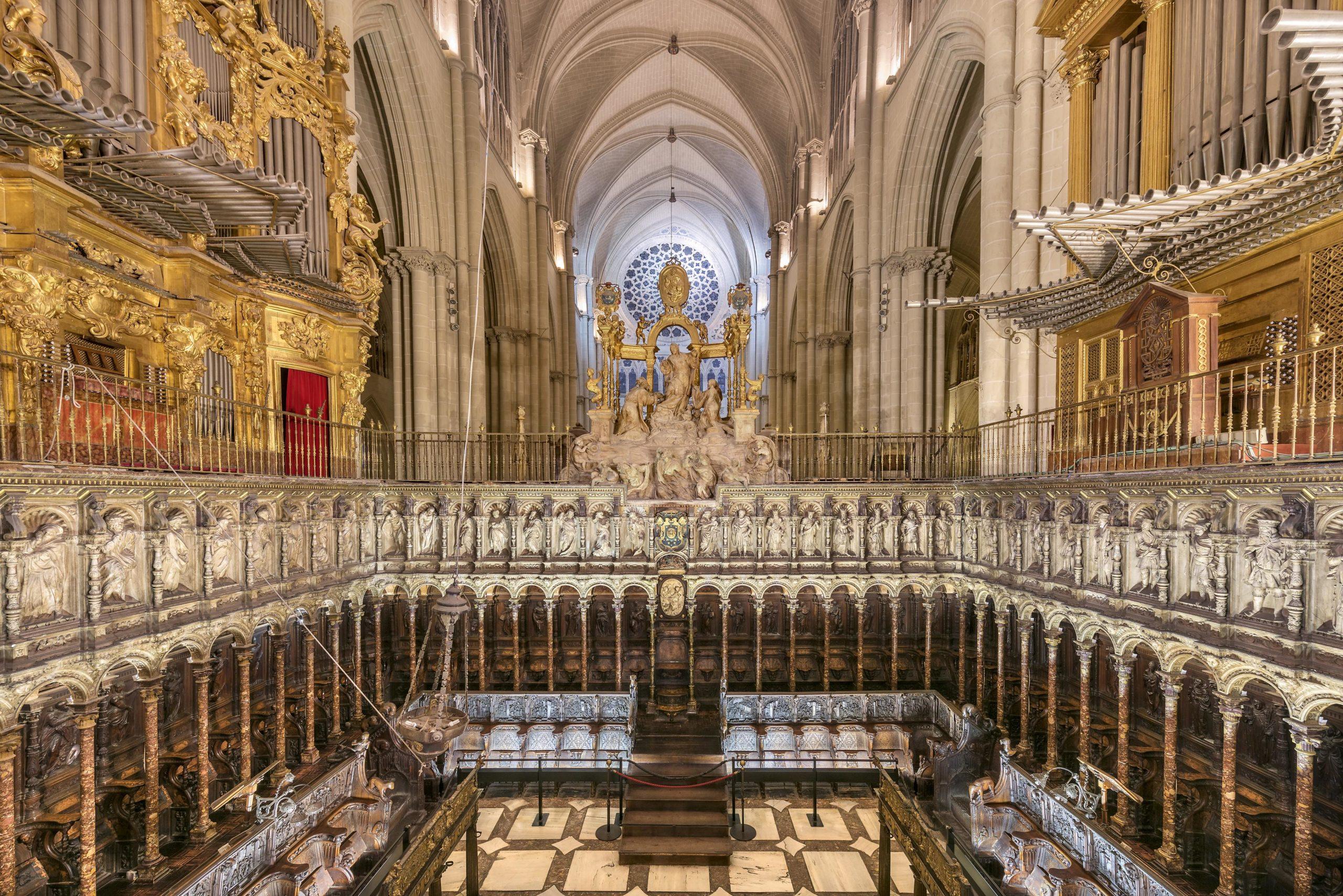 El coro de la Catedral de Toledo