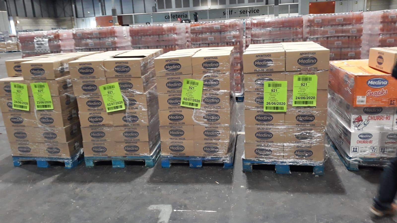 Aperitivos Medina dona más de 1.000 kg de producto al Hospital de Campaña de Ifema. • Aplaude a los sanitarios con un envío de 4.800 bolsas de Nuts Time a la Fundación Jiménez Díaz