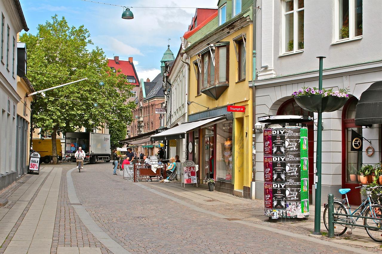 Malmö es una ciudad pequeña, amigable y placentera