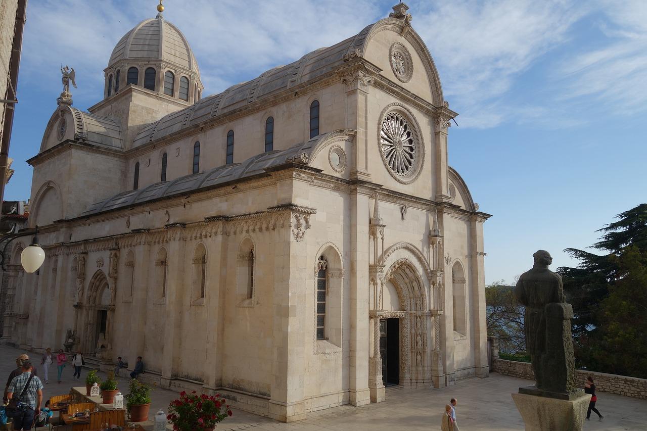 La Catedral de Santiago, en Sibenik