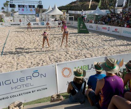 Higuerón Resort acoge la 8ª edición del Campeonato de España de Vóley Playa